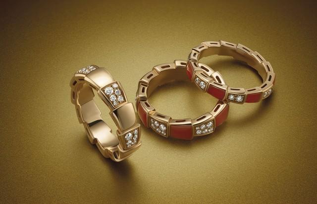Anéis da coleção Serpenti Viper, da Bulgari (Foto: Divulgação)