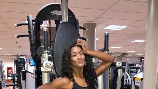 Erika Januza treina pesado para mandar bem no 'Dança dos Famosos'