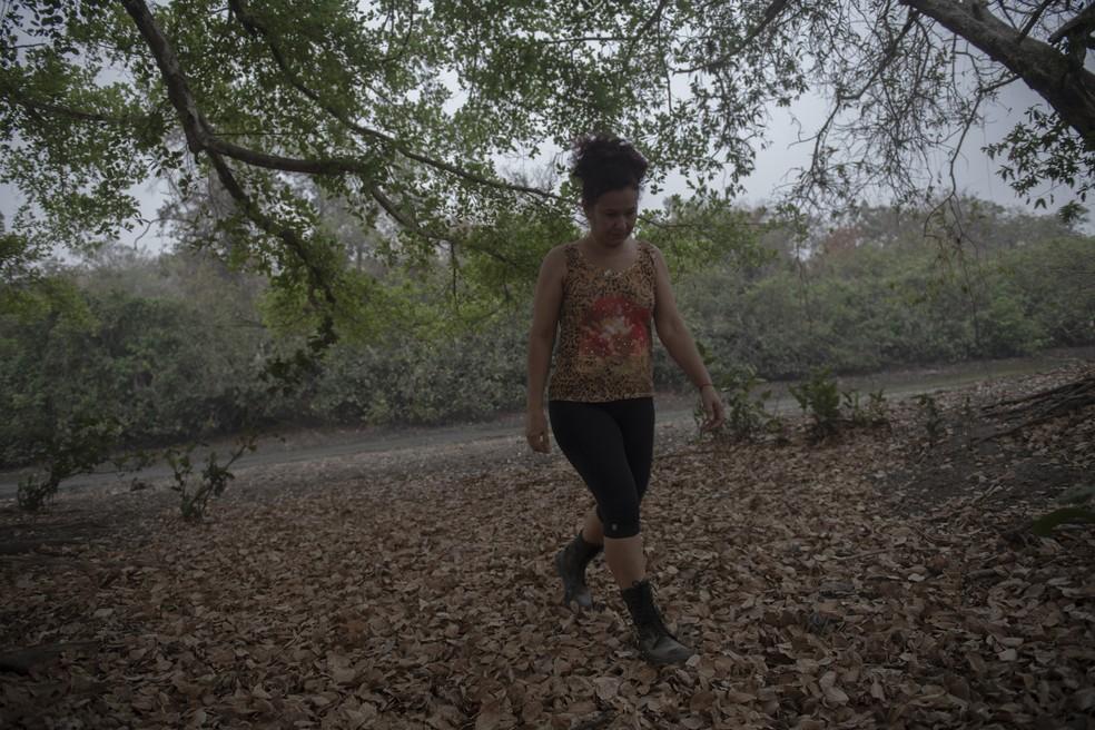 As queimadas prejudicaram ainda mais a temporada turística no Pantanal que já sofria as consequências da pandemia. — Foto: Mauro Pimentel/ AFP