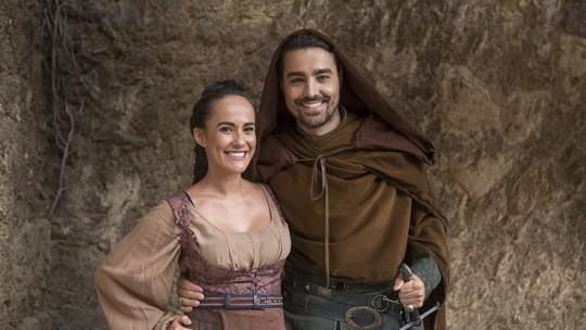 Francisca, esposa de Ricardo Pereira, surpreende ator em cena no 'Dia dos Namorados'