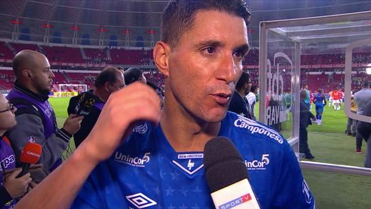 Thiago Neves garante que elenco do Cruzeiro não está rachado e nega complô para derrubar Mano