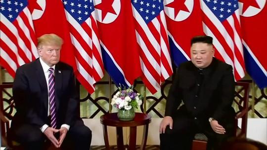 Reunião termina antes da hora e sem acordo entre EUA e Coreia do Norte