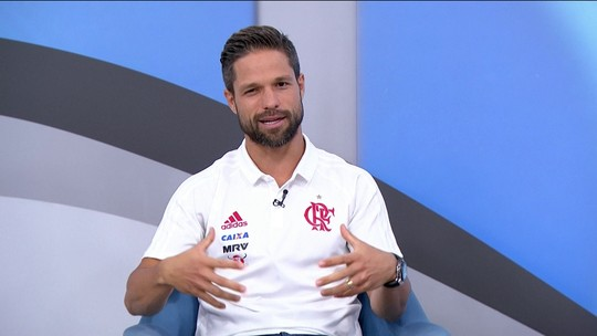 """Diego sobre chance de jogar Copa do Mundo: """"Uma sensação animadora"""""""