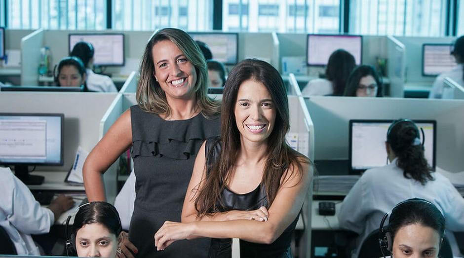 Luciana Guimarães e Vanessa Vasquez, da Íntegra Medical: trajetória das empreendedoras está no livro (Foto: Endeavor Brasil)