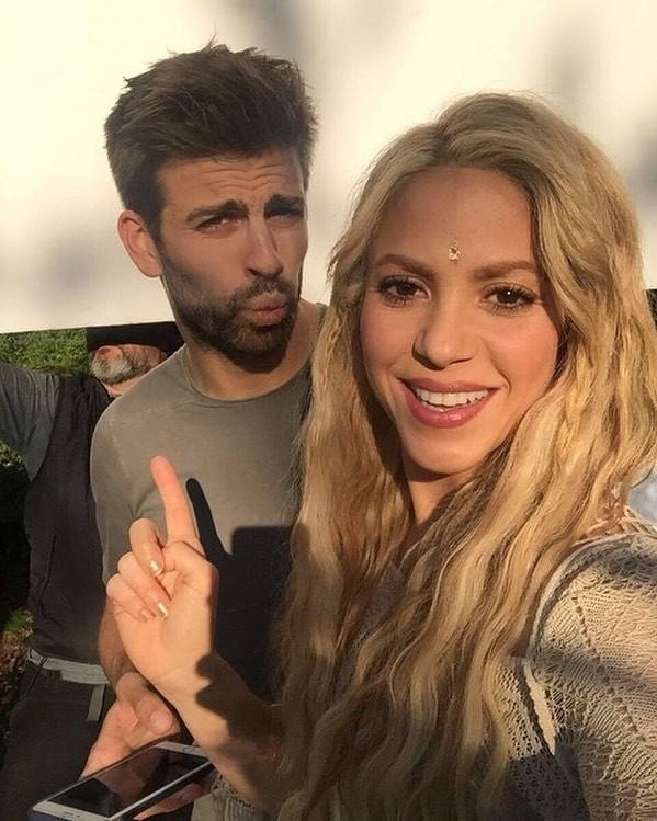 Shakira e Pique (Foto: Instagram/Reprodução)