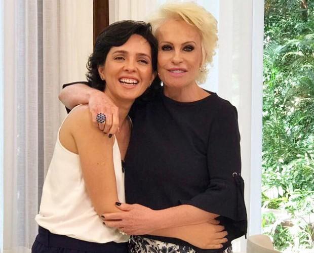 Nadia Bochi e Ana Maria Braga (Foto: Reprodução/Facebook)