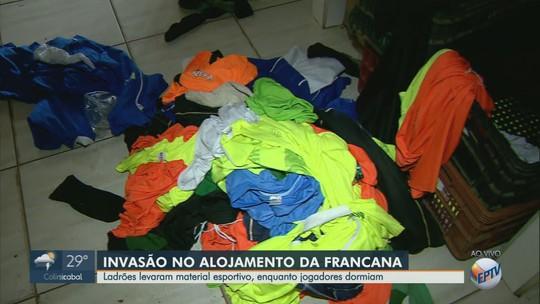 """Francana cancela treino do sub-20 após furto em CT: """"nunca tivemos nada parecido"""", diz presidente"""