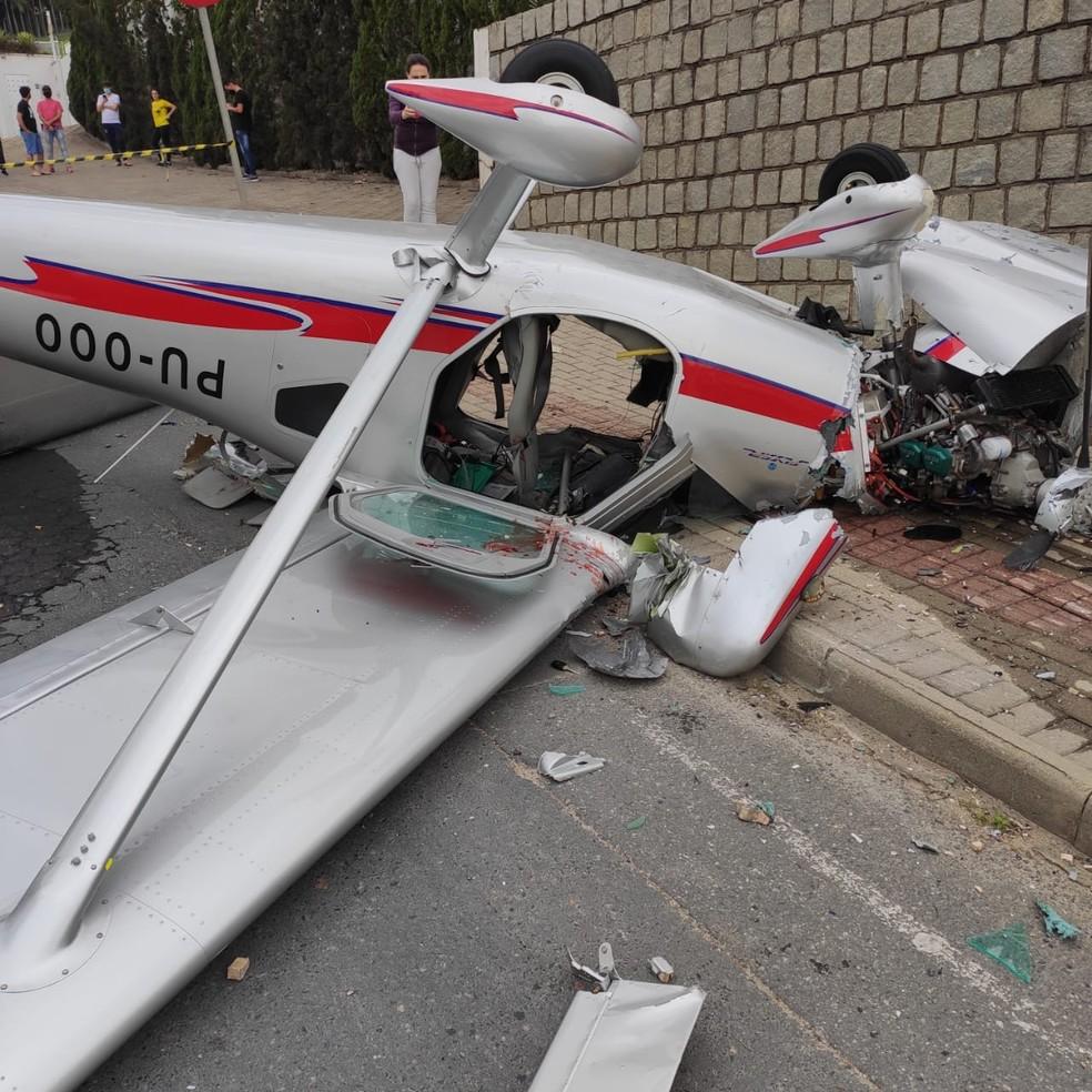 Acidente ocorreu na manhã deste sábado em Guabiruba — Foto: Corpo de Bombeiros/ Divulgação