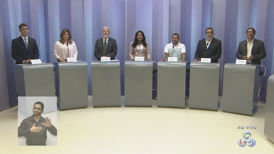 Candidatos à prefeitura de Macapá comparam propostas em debate