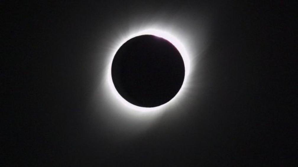 Em 2019, um eclipse solar total pode ser observado na Argentina — Foto: Getty Images