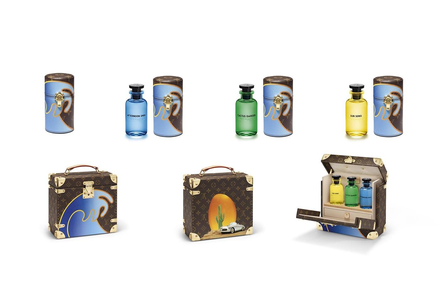Os cases especiais feitos pelo artista Alex Israel para a Louis Vuitton (Foto: Divulgação)