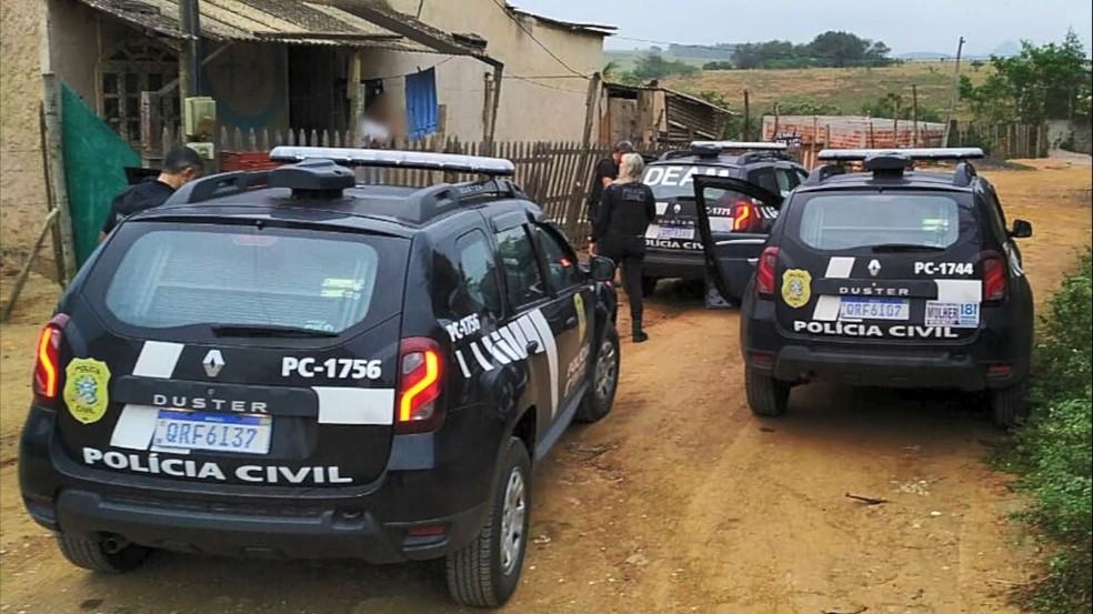 5ª fase da Operação Marias — Foto: Divulgação/Polícia Civil