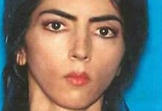 Foto de Nasim Najafi Aghdam liberada pela polícia. Ela se matou depois do ataque ao YouTube (Foto: Divulgação)