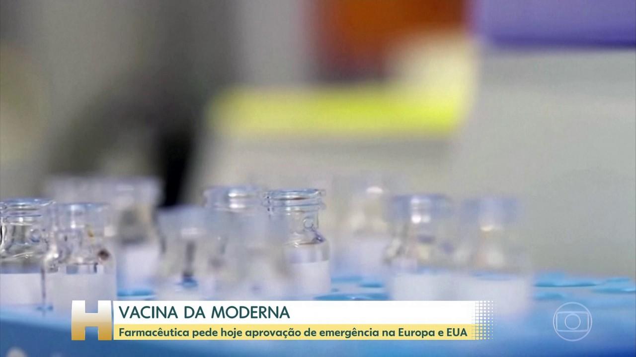 Moderna planeja solicitar autorização para uso emergencial da vacina nos EUA e Europa