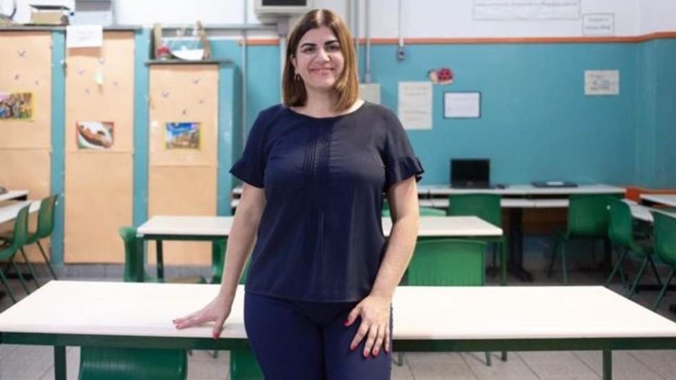 Se ganhar o prêmio, Garofalo diz que vai reverter todo o dinheiro para construção de laboratórios de robótica em escolas públicas do país — Foto: Arquivo pessoal