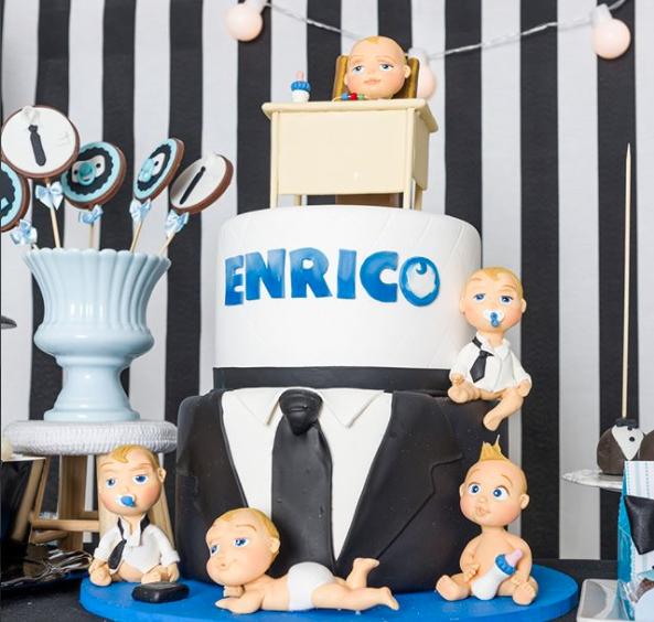 Mesversário do Enrico (Foto: Reprodução)