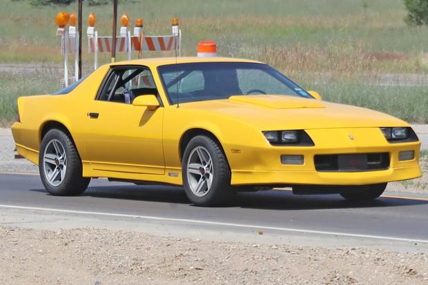 Chevrolet Camaro de terceira geração foi feito entre 1982 e 1992 (Foto: AutoMedia/Autoesporte)