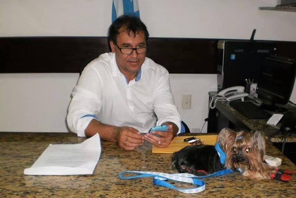 Vandick Lima presidiu o Paysandu no biênio 2013/2014 — Foto: GloboEsporte.com