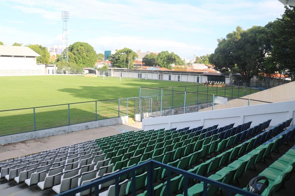 Distante 40km de Altos, cidade-sede do Jacaré, Lindolfo Monteiro será casa do clube na Copa do Nordeste — Foto: Abel Angelim