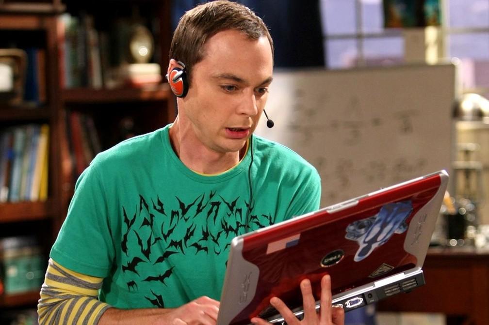 Jim Parsons interpreta Sheldon em 'The Big Bang Theory' — Foto: Divulgação