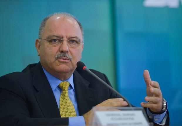 General Sérgio Etchegoyen , do Gabinete de Segurança Institucional (GSI) (Foto: José Cruz/Agência Brasil)