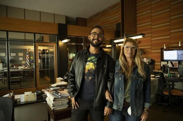Raphael Montes e Ilana Casoy (Foto: Suzanna Tierie/Divulgação)
