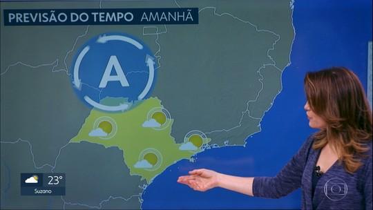 Quinta-feira tem previsão de chuva e temperatura mais amena
