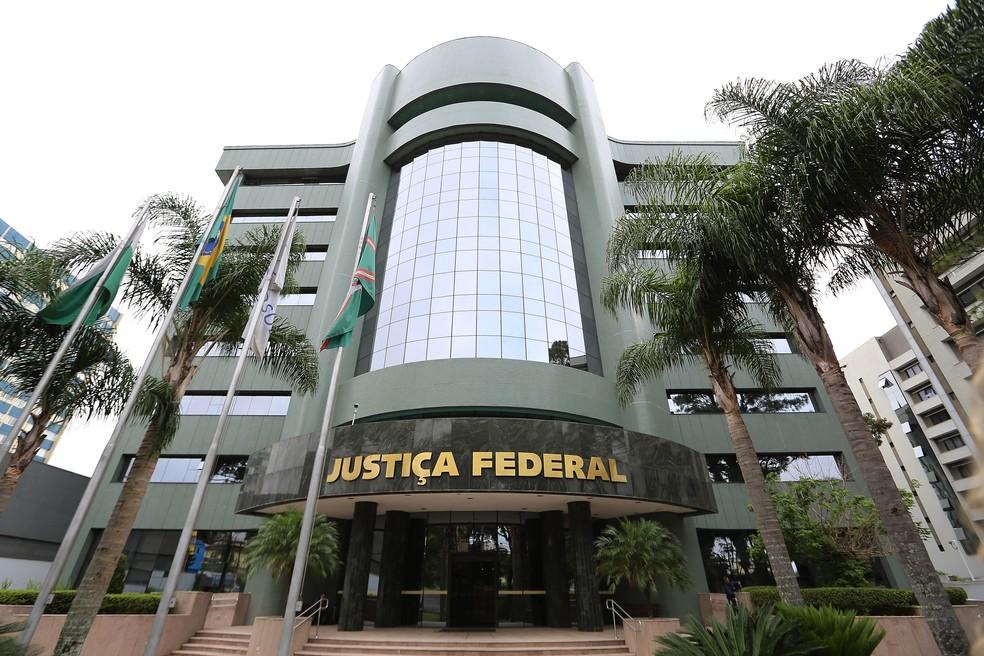 Sede da Justiça Federal, em Curitiba — Foto: Giuliano Gomes/PR Press