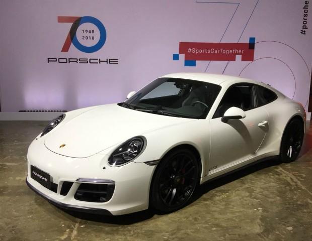 Porsche faz 70 anos e ganha exposição em São Paulo  (Foto: Marcus Vinícius Gasques)
