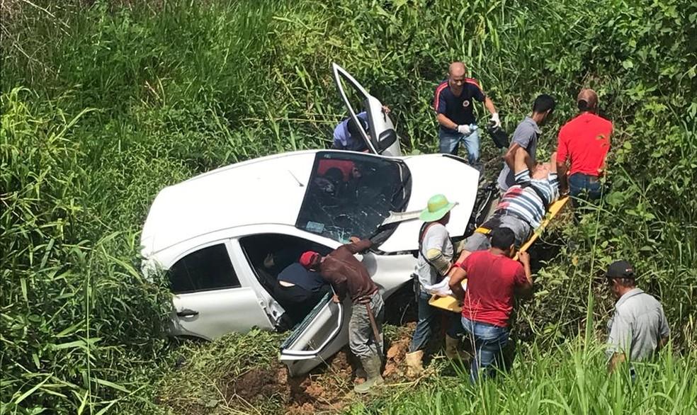 Acidente ocorreu nesta terça-feira (9), no KM 30 da BR-364 sentido Rio Branco/Feijó — Foto: Arquivo pessoal