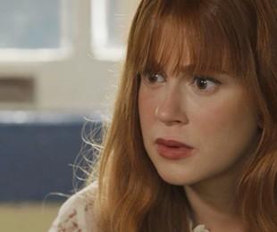 Luz (Marina Ruy Barbosa) pressionará Judith (Isabela Garcia) para saber os segredos do casarão | Reprodução