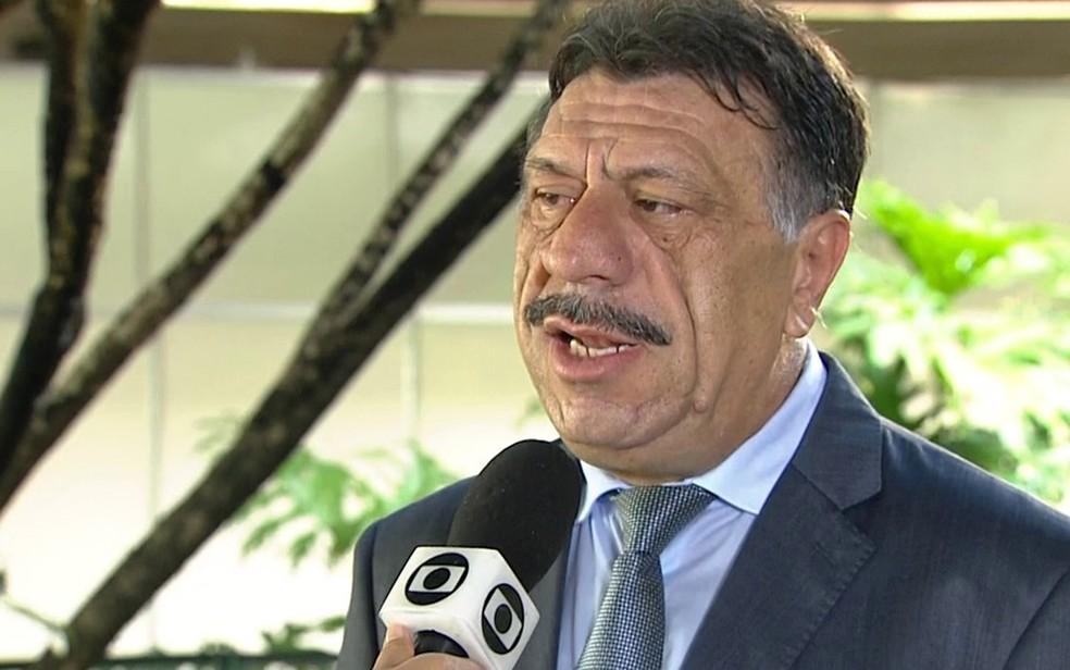 José Patriota é presidente da Associação Municipalista de Pernambuco — Foto: Reprodução/TV Globo