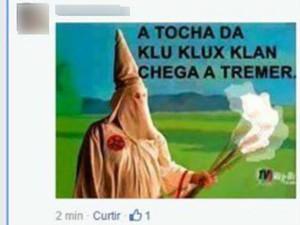 Mensagens com teor racista foram apagadas de grupo de alunos da PUC-Campinas no Facebook (Foto: Reprodução/ Facebook)
