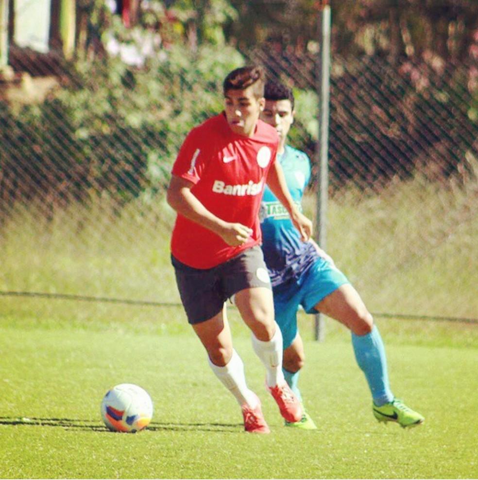 Ezequiel Esperon pelo Inter  — Foto: Reprodução/Instagram