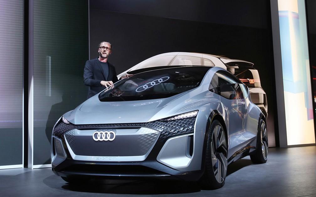 Audi AI ME em Xangai — Foto: Divulgação