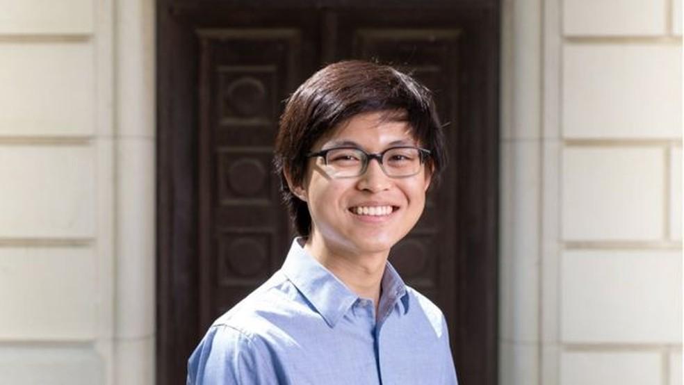 A criação de Ewin Tang, de 18 anos, causou frisson no mundo da computação internacional — Foto: UT Austin/Divulgação