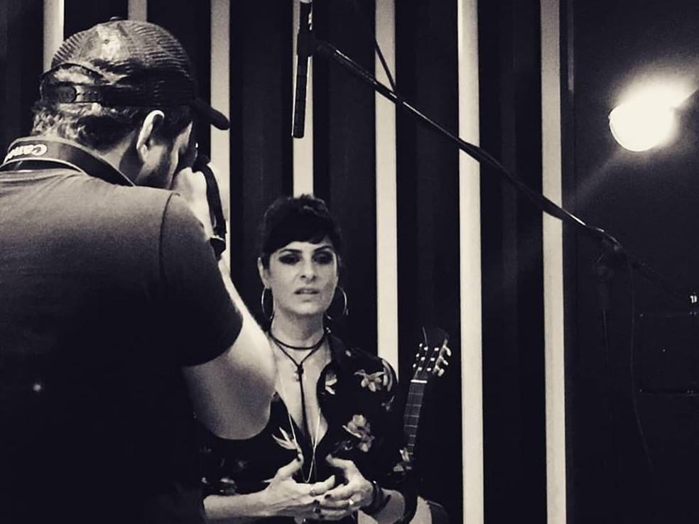 Fernanda Abreu em 'Blitz – O filme' (Foto: Divulgação / Viralata Produções)