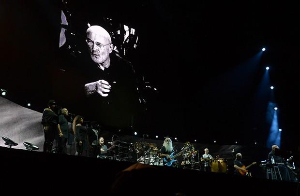Show do Phil Collins em São Paulo (Foto: Francisco Cepeda/AgNews)
