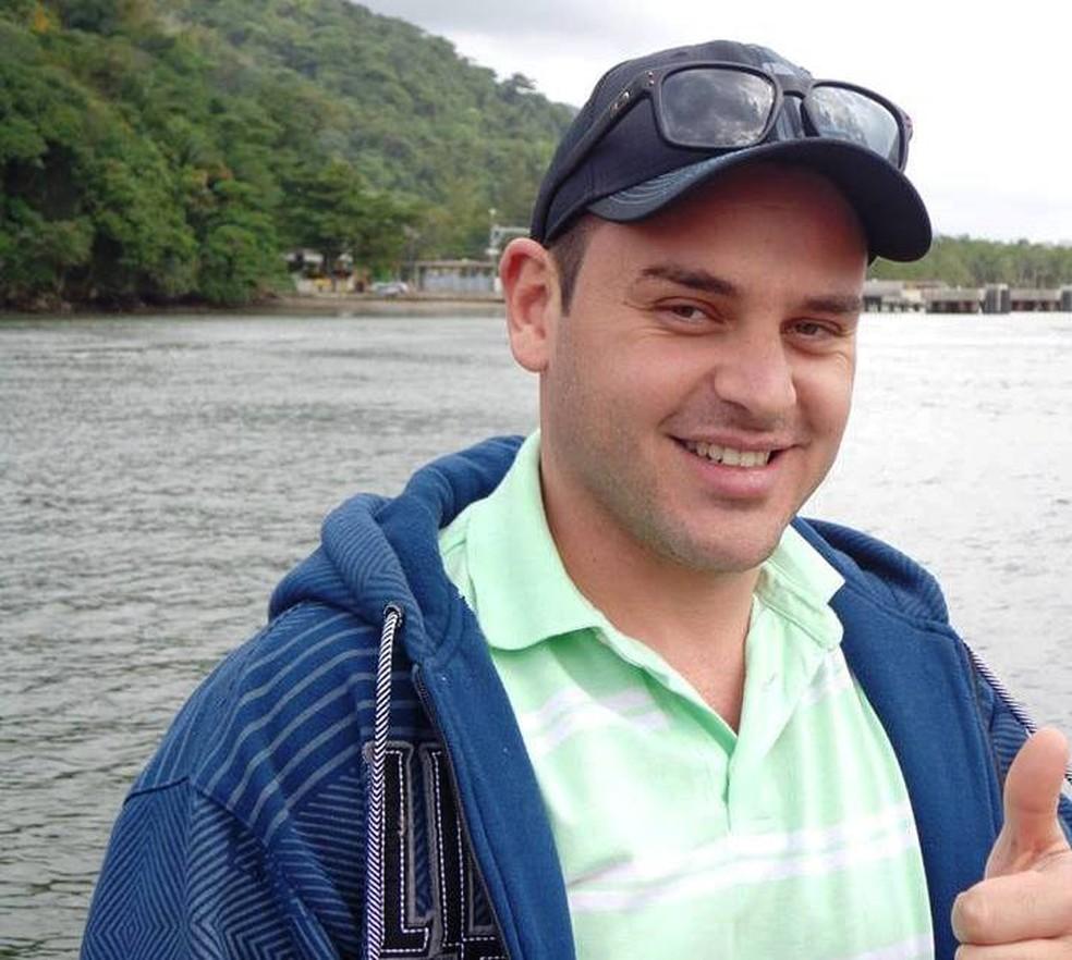 Pedro Damn foi morto enquanto trabalhava em carrinho de lanches em Bertioga, SP — Foto: Arquivo Pessoal