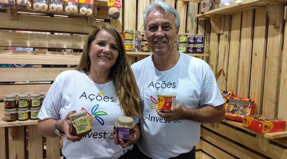 Dom Cookie: empresa fundada pelos empreendedores Alina Figueiredo e Ramiro Vidal (Foto: Fabiano Candido)