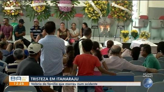 Família que morreu em acidente na Bahia passaria fim de semana em sítio