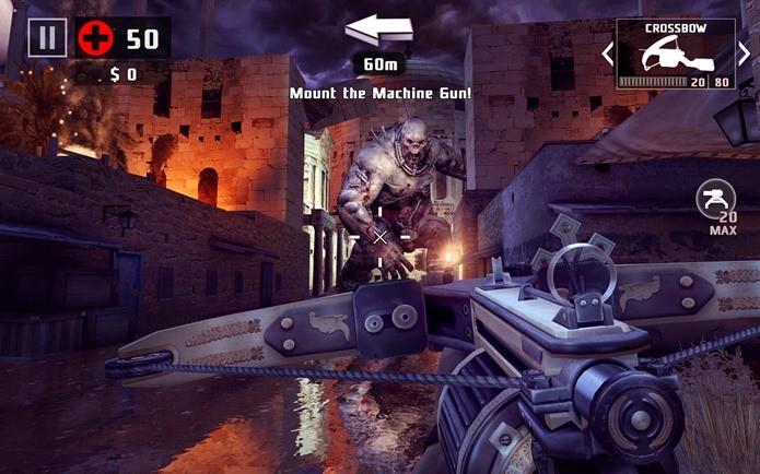 Dead Trigger 2 tem muitas missões e grande variedade de zumbis (Fotos: Divulgação)