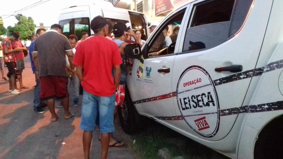 Operação Lei Seca atuou durante o Mossoró Cidade Junina — Foto: PMRN/Divulgação