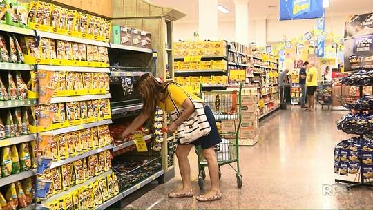 Preço da cesta básica tem redução de 18% no mês de junho em Londrina