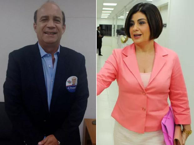 Dr. Chicão e Rosinha Garotinho continuam no cargo até caso ser julgado pelo TSE (Foto: Stella Freitas/ G1 e Gerson Gonçalo / Arquivo pessoal)