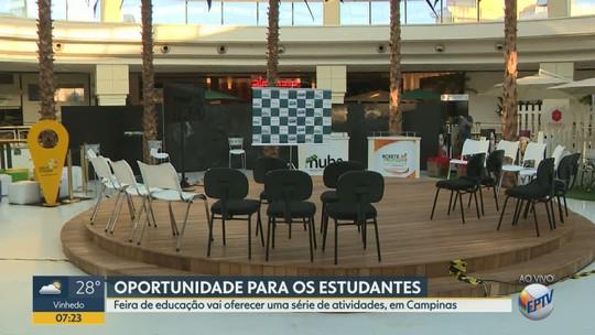 Shopping de Campinas recebe até domingo evento gratuito com palestras, workshops e 'aulão' sobre o Enem
