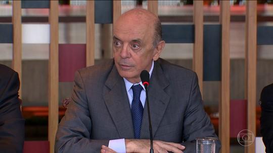 STF envia para Justiça Eleitoral inquérito de Serra