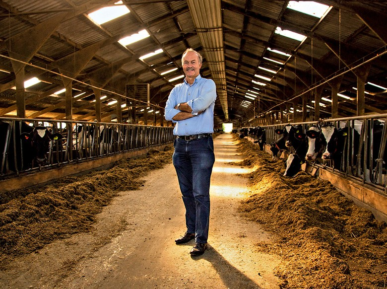 Holanda - Ernst van der Schans, proprietário da fazenda Den Eelder, em Poeldijk (Foto:  Bruno Blecher)