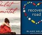 Capas dos livros 'Recovery Road' e 'Juliet immortal', que serão adaptados para a TV | Reprodução da internet
