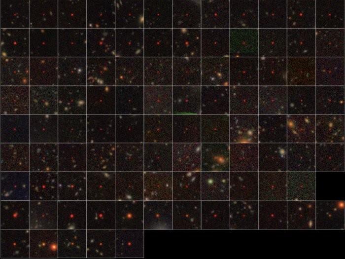 83 quasares foram descobertos no universo primitivo (Foto: National Astronomical Observatory of Japan)